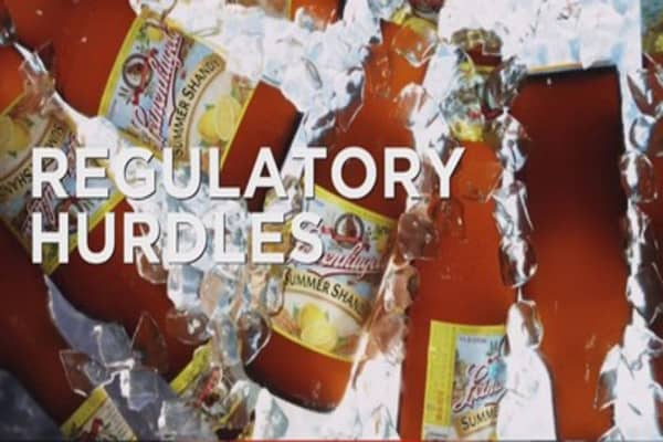 Anheuser-Busch looks to acquire SABMiller