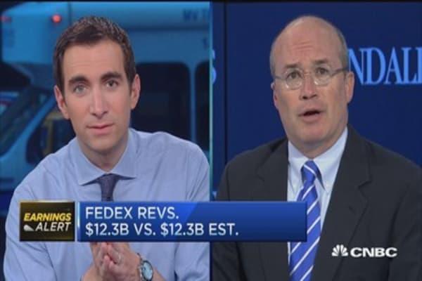 FedEx can 'outperform' despite EPS miss: Pro