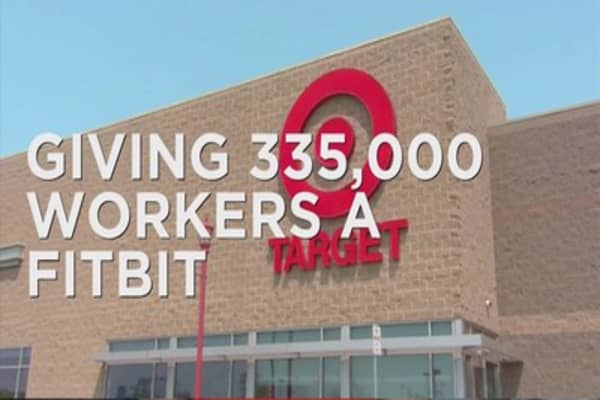 Target gives employees a FitBit