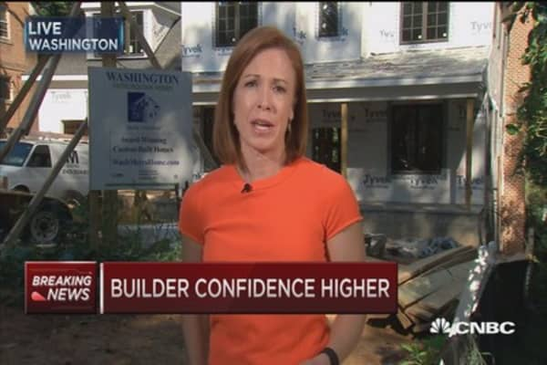 Home builder sentiment rises in September