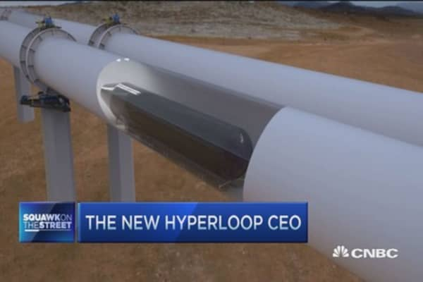 Public is tired of antiquated transportation: Hyperloop CEO