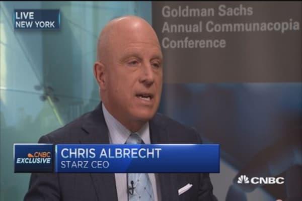 Takeover talk highlights Starz value: Albrecht