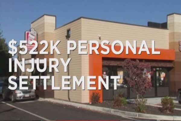 NJ woman wins $522k settlement with Dunkin'