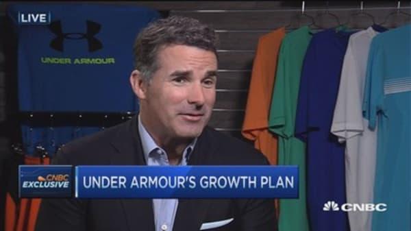 Under Armour forecasts $7.5B revenue 2018