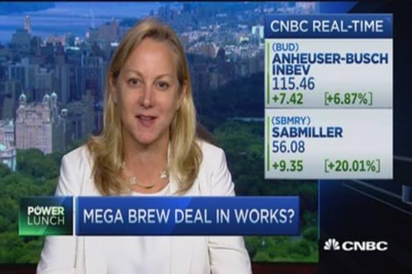 Big beer deal brewing?