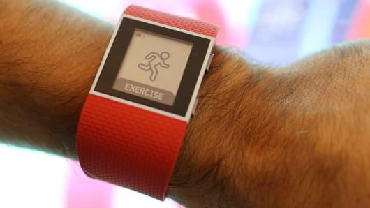 A Fitbit Surge