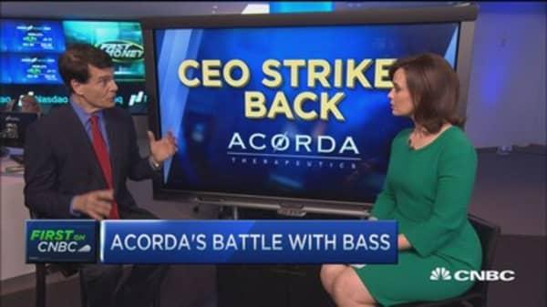 Acorda CEO strikes back to Kyle Bass