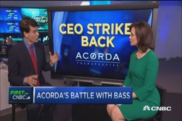 Acorda CEO strikes back to Kyle Bass
