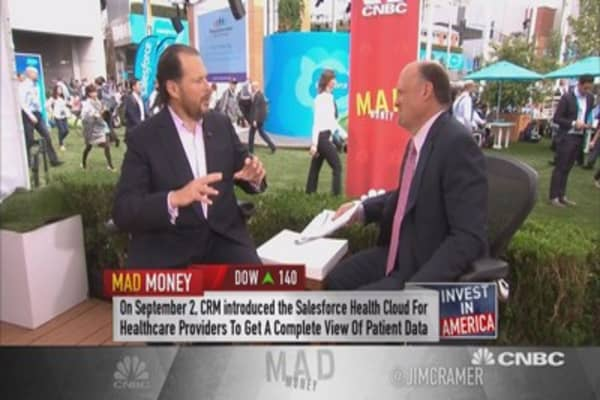 King of Cloud to Cramer: CRM isn't about the cloud