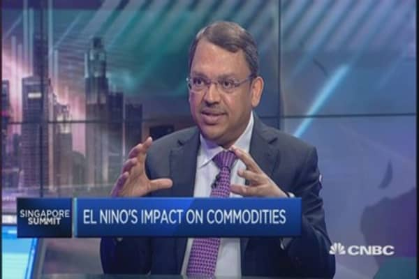 Olam CEO: El Nino weather will be 'moderate'