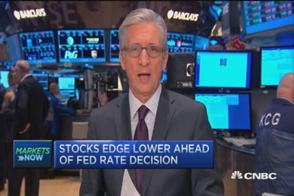 Consumer discretionary stocks lead open: Pisani