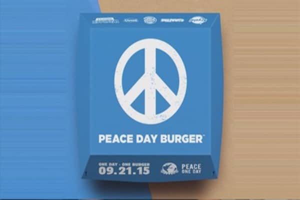 Five burger joints come together for Peace Day