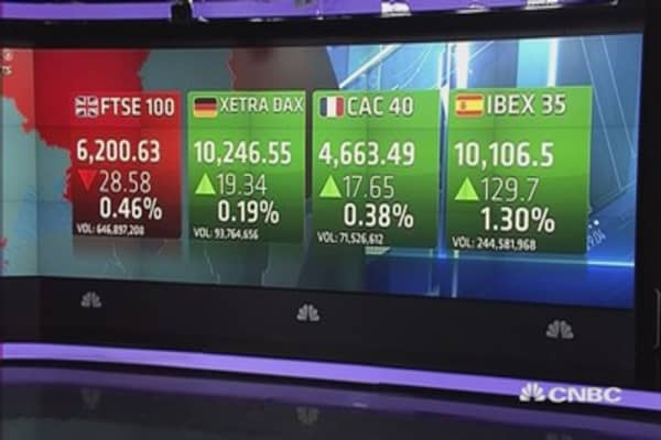 Cautious Europe closes mixed as Fed decision looms