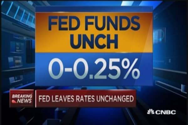 Fed leave rates unchanged