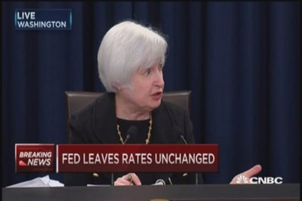 What does Fed need to see to move in short term?