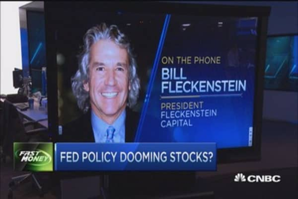 Market trapped because Fed is trapped: Fleckenstein