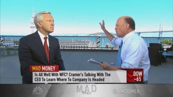 Wells Fargo CEO: Our goal is NOT to make money