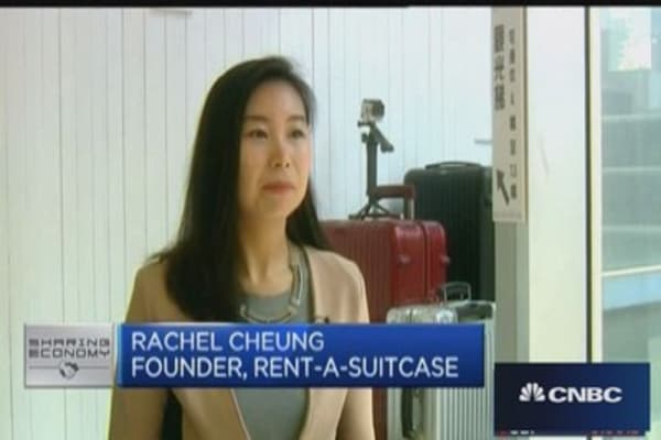Rent-a-Suitcase thrives in land-scarce Hong Kong