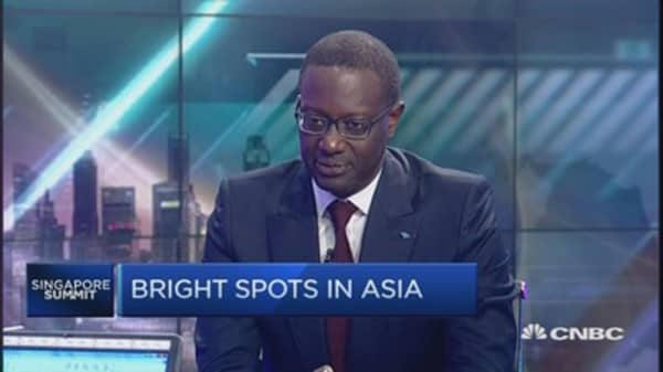 Here's why Credit Suisse likes Asia