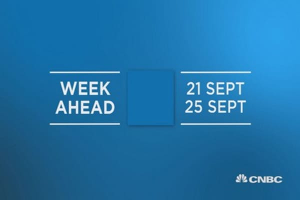 Week Ahead 21 Sept