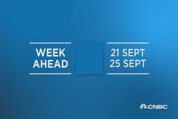 Week Ahead 21 Sept