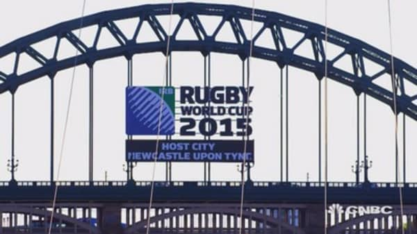 Rugby World Cup economic winner