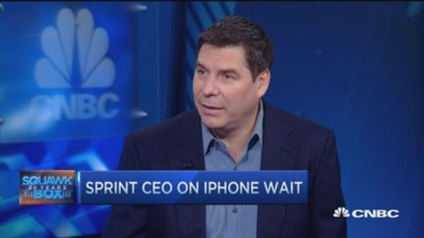 Sprint CEO: 'iPhones 'Forever'