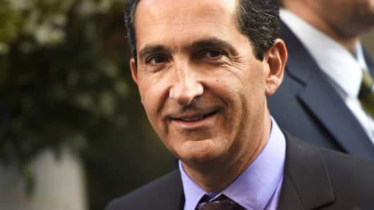 Patrick Drahi, President of French telecom group Altice