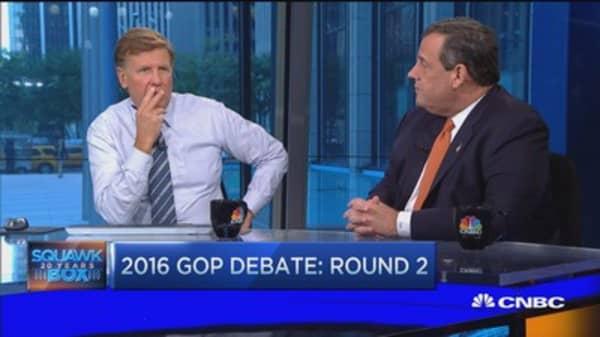 Gov. Christie:  GOP needs to focus on winning