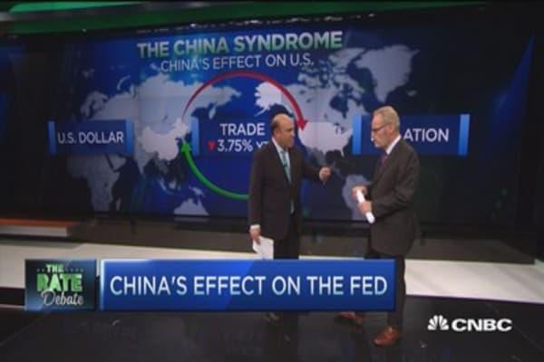 Fed watching China
