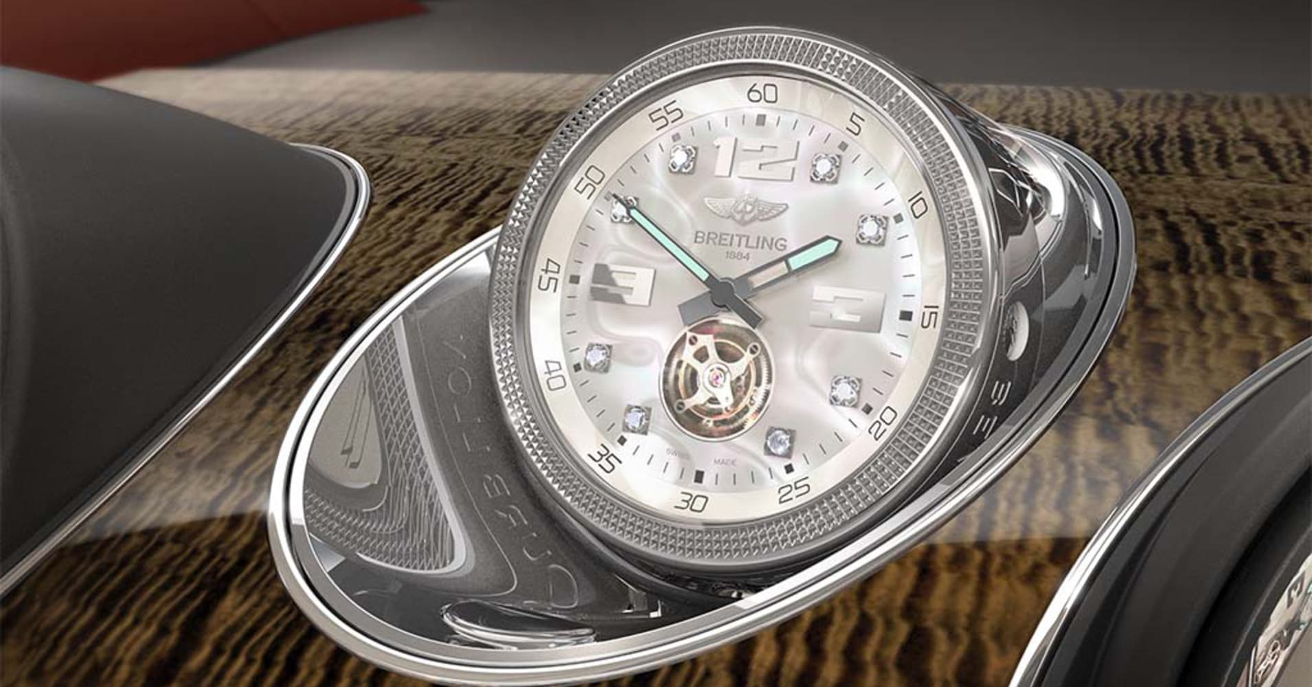 Bentley offering world's most expensive in-car clock