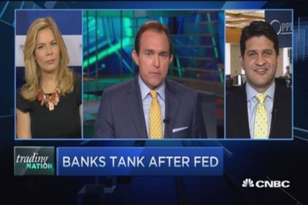 Trading Nation: Bank stocks slammed