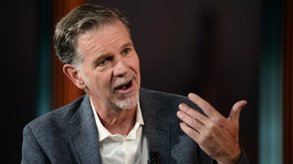 Reed Hastings, CEO of Netflix.