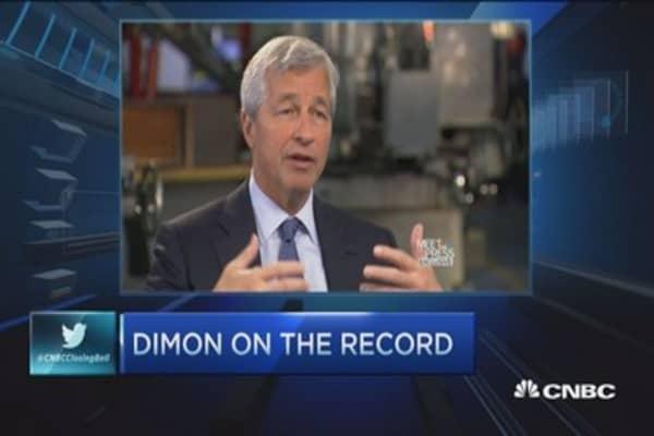 Dimon: DC gridlock slowing economic growth