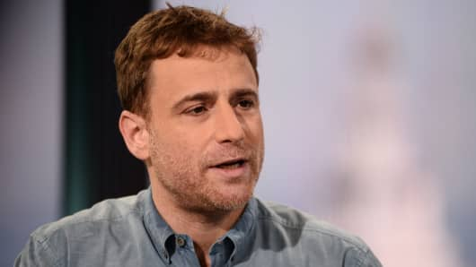 Stewart Butterfield, co-founder of Slack and Flickr.