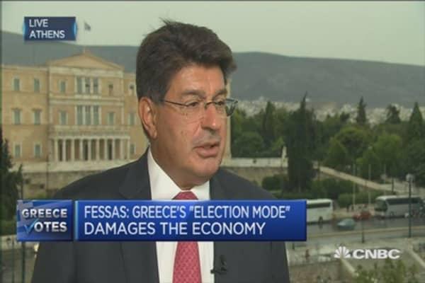 Greek govt must implement bailout: Chairman