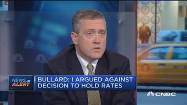 Chair should hold press conference every meeting: Bullard