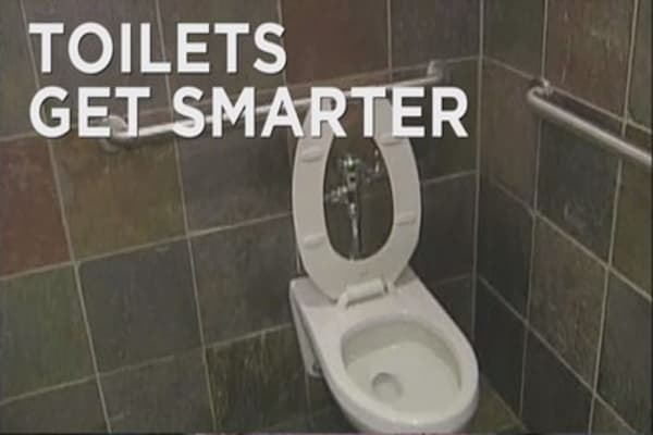 Toilets get smarter