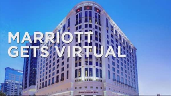 Marriott goes virtual in NY and London