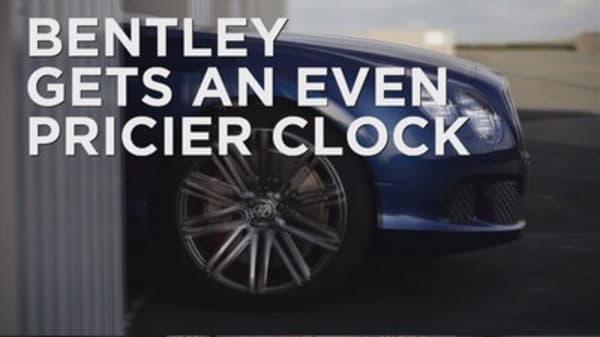 Bentley gets an even pricier clock