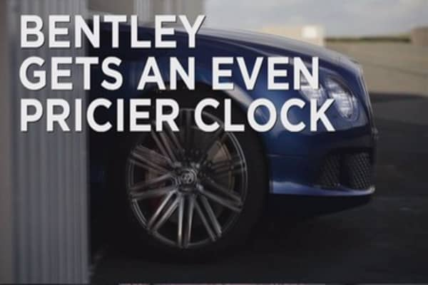 Bentley gets an even pricier clock