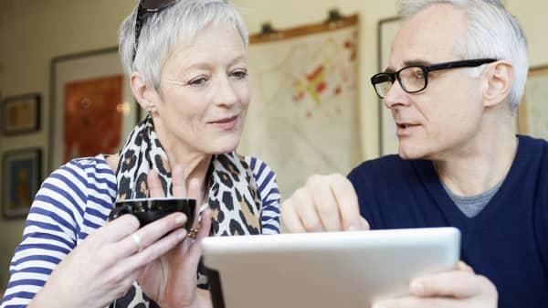 retirement couple social security