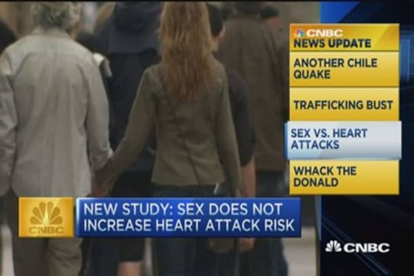 Sex does not increase heart attack risk: Study