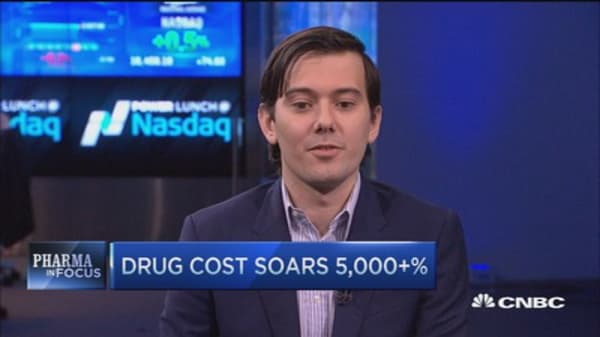 Turing CEO: Drug priced where we could make 'comfortable profit'