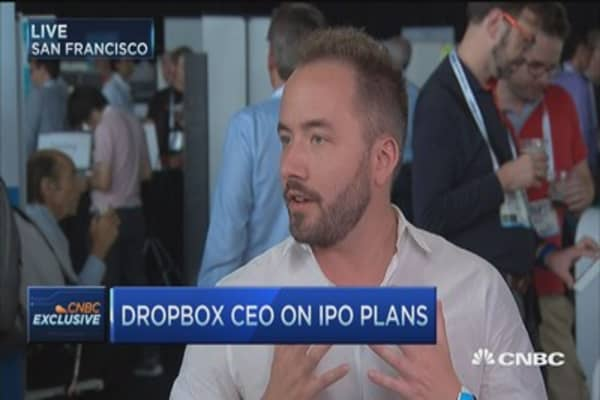 Dropbox CEO: Our focus is on collaboration