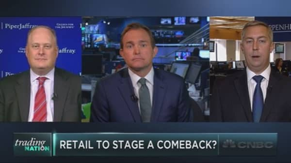 Retail staging a comeback?