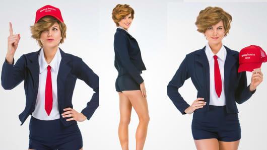 Donna T. Rumpshaker costume