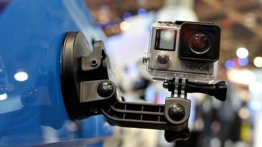 A GoPro Hero4 camera