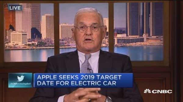 Apple car a 'gigantic money pit': Lutz