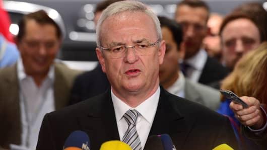 CEO of German carmaker Volkswagen, Martin Winterkorn.
